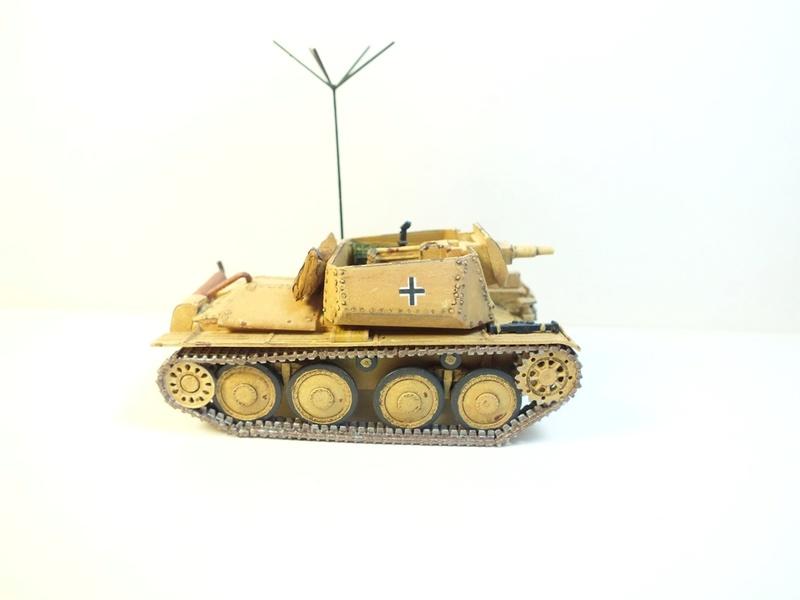 Разведывательный танк Sd.Kfz.140/1-75 на базе Pz.38 (t) R411