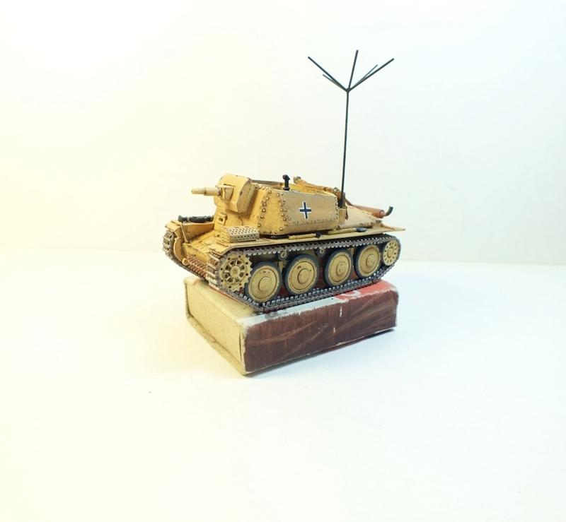 Разведывательный танк Sd.Kfz.140/1-75 на базе Pz.38 (t) R511
