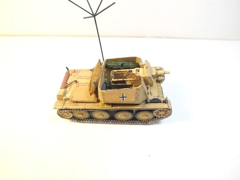 Разведывательный танк Sd.Kfz.140/1-75 на базе Pz.38 (t) R711