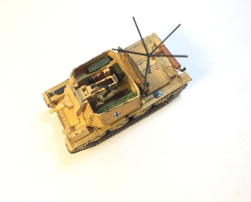 Разведывательный танк Sd.Kfz.140/1-75 на базе Pz.38 (t) R911