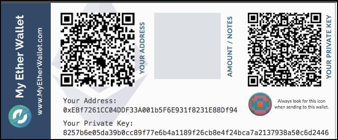 Потерял Секретный Ключ MyEther Wallet Bc039210