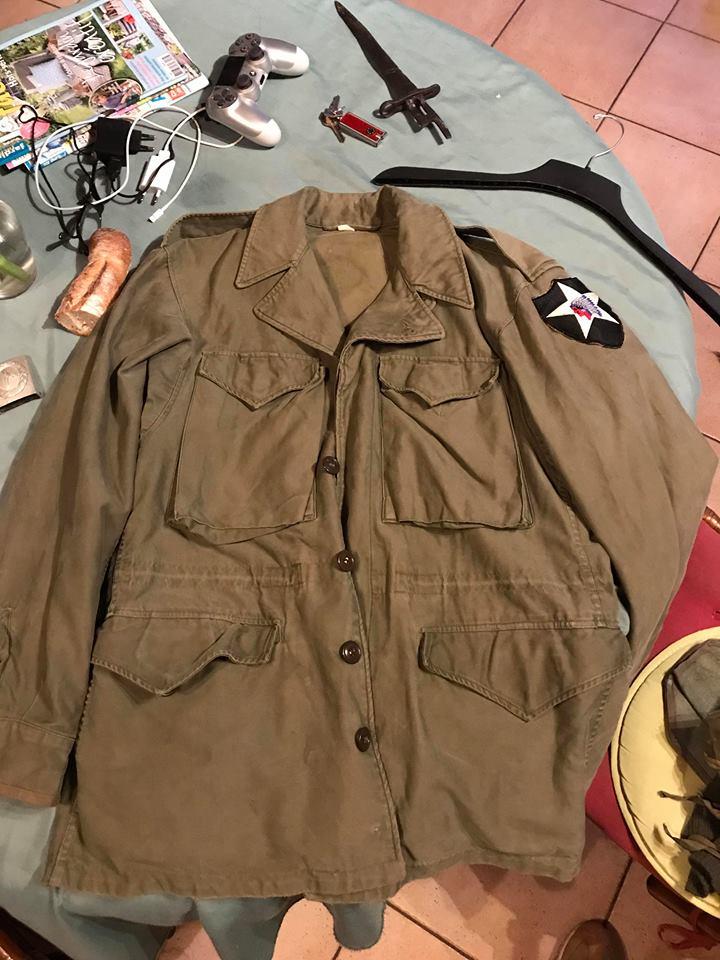 Avis veste m43 de la 2nd Infantry Div 33647210