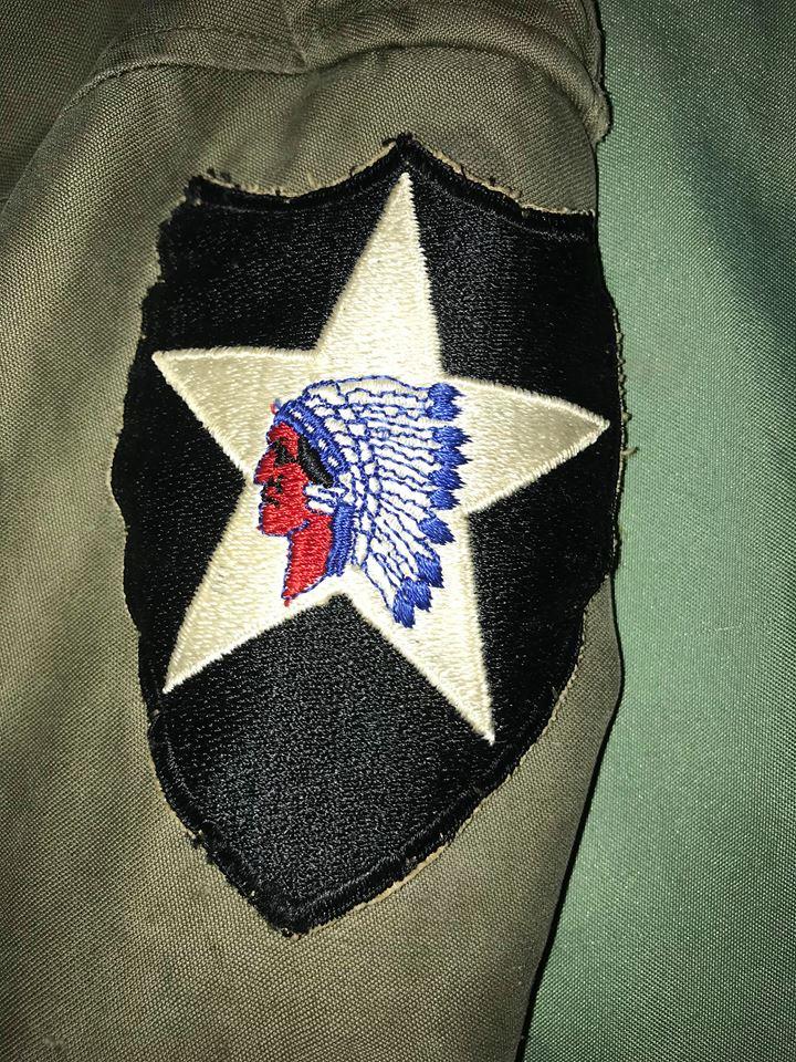 Avis veste m43 de la 2nd Infantry Div 33700710
