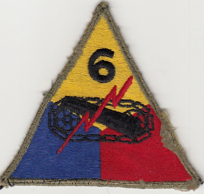 Patch 6th Armored Greenback ?? S-l16015