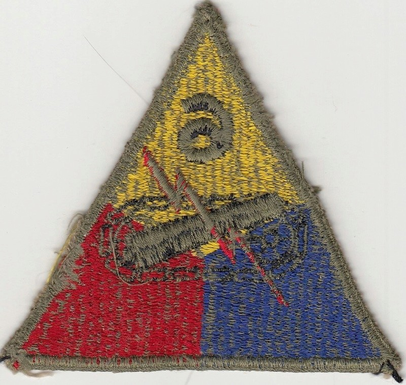 Patch 6th Armored Greenback ?? S-l16016