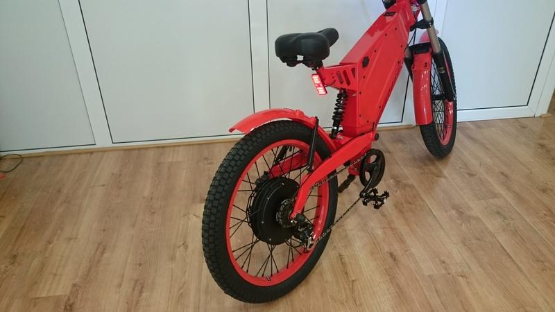 Vendo bici eléctrica motor 2 kW, Controlador Kelly Sinoidal y batería Panasonic de 48V 20Ah Dsc_0011