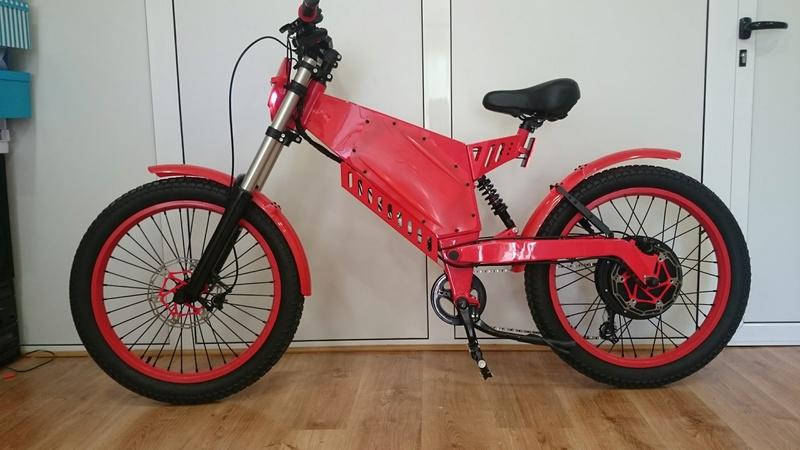 Vendo bici eléctrica motor 2 kW, Controlador Kelly Sinoidal y batería Panasonic de 48V 20Ah Dsc_0012
