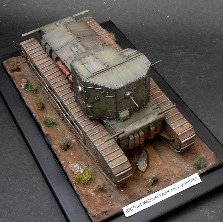 Mk A «Whippet»,1\35,Meng P1090222