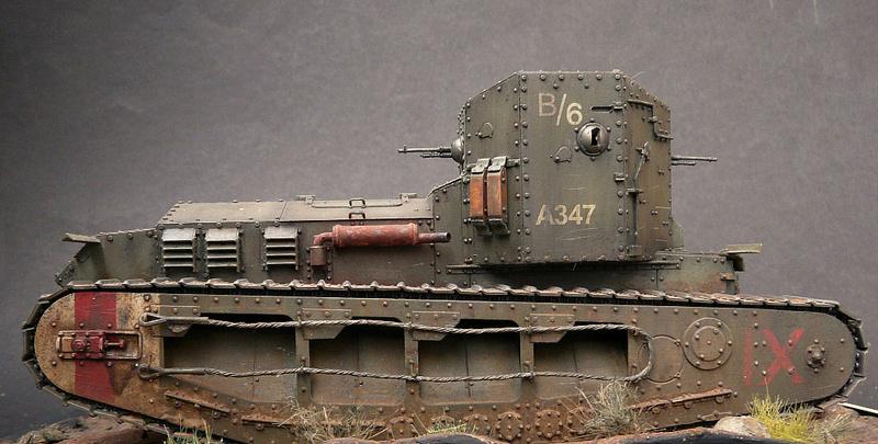 Mk A «Whippet»,1\35,Meng P1090224