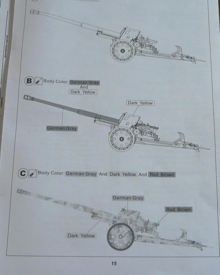 German 8.8cm Pak 43/41 Anti-tank Gun,1\35,AFV Club P1090411