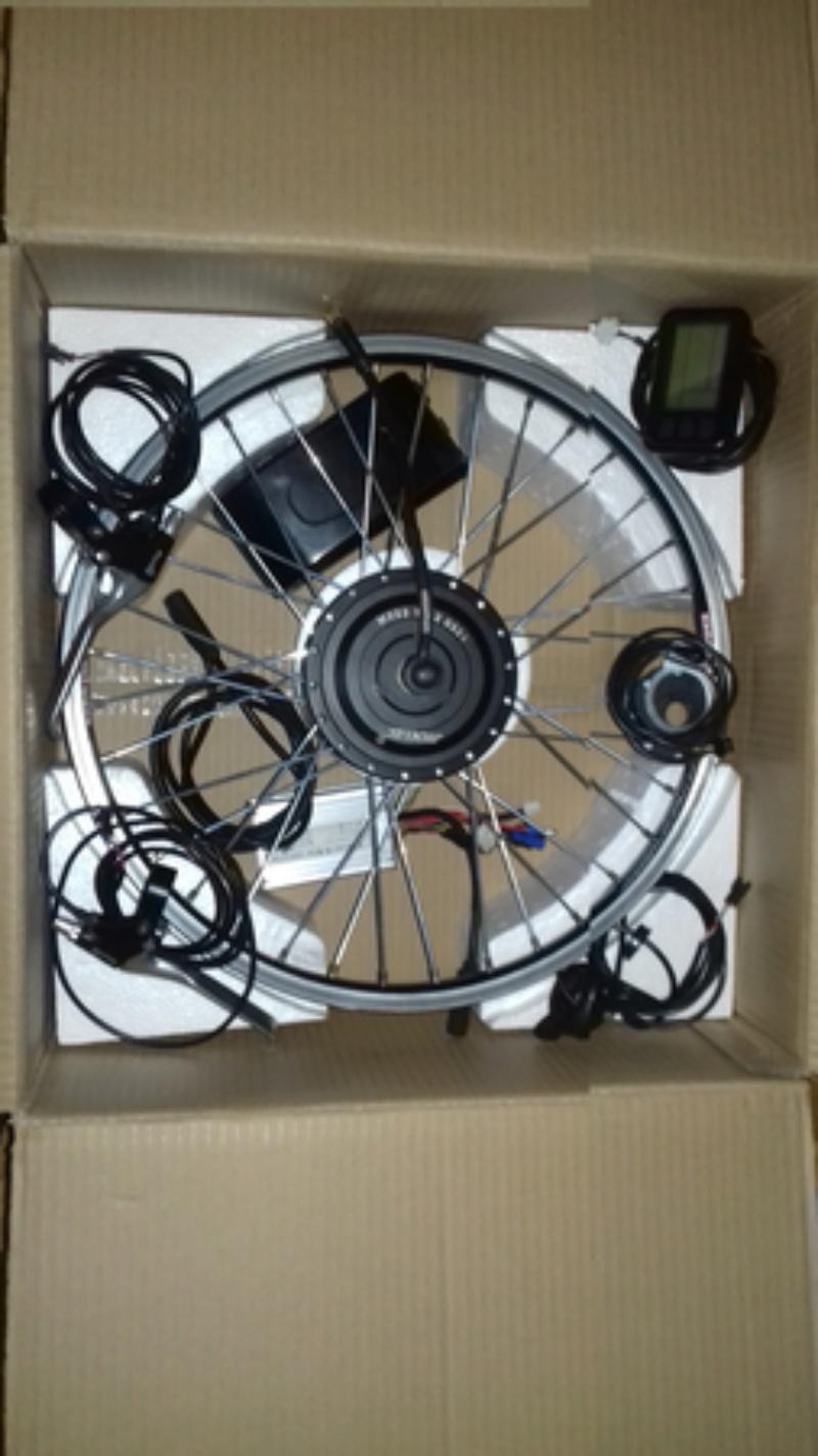 """Vendido KIT completo rueda de 20"""" + batería y cargador 111"""