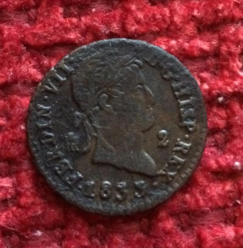 2 maravedis 1833. Fernando VII. Segovia. Me ayudais a graduar su conservación? Image32