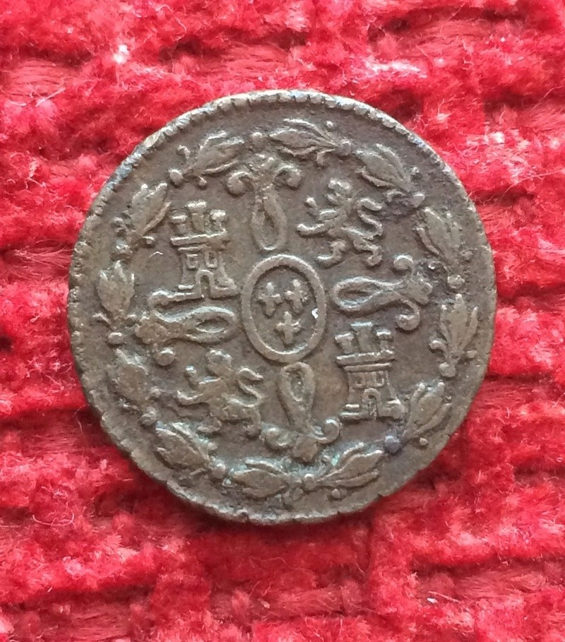 2 maravedis 1775. Carlos III. Segovia Image35