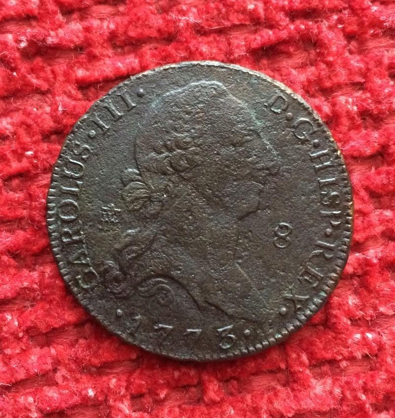 8 maravedis 1773 Carlos III - Segovia Image36