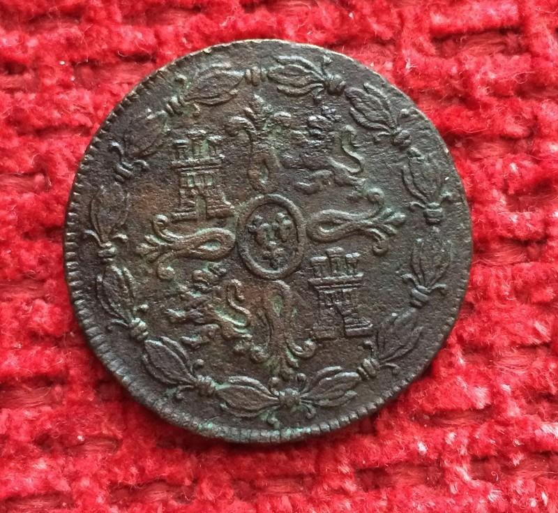 8 maravedis 1773 Carlos III - Segovia Image37