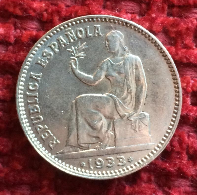 1 peseta 1933. II República. ¿cuál es el grado de conservación que le corresponde?  Image38