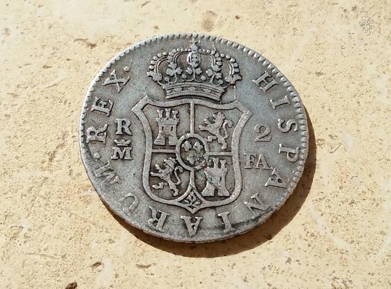 2 Reales 1806. Carlos IV. Madrid Clipbo10