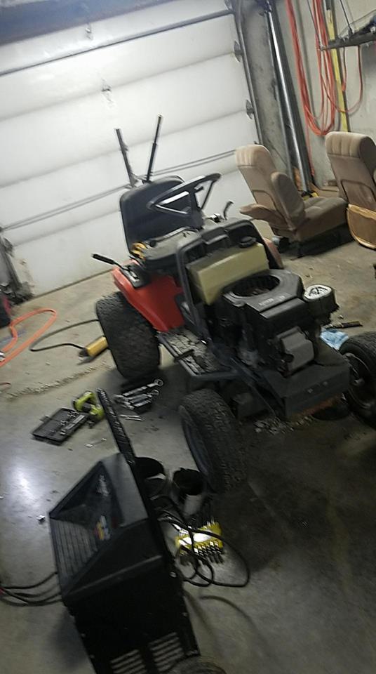 Noma All Wheel Steer Traptor.  Noma10