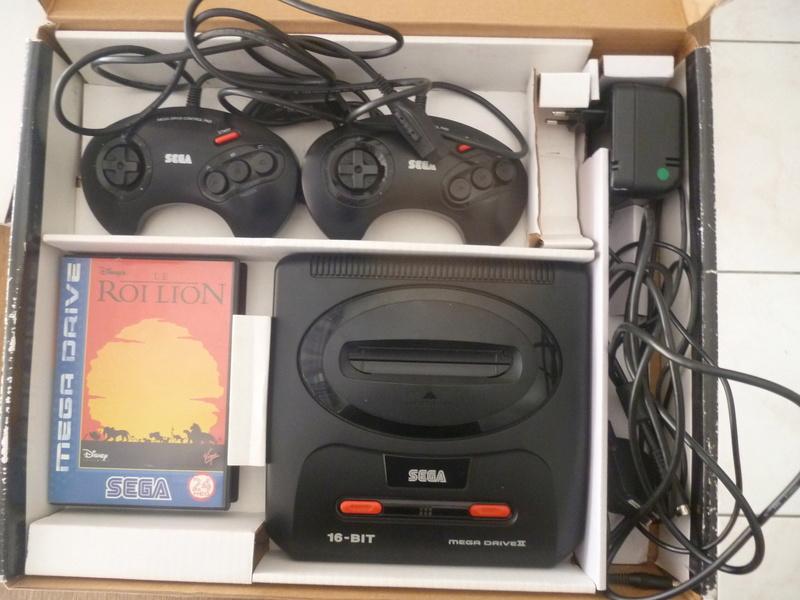 VDS - Sega Megadrive - Pack Roi Lion P1180811