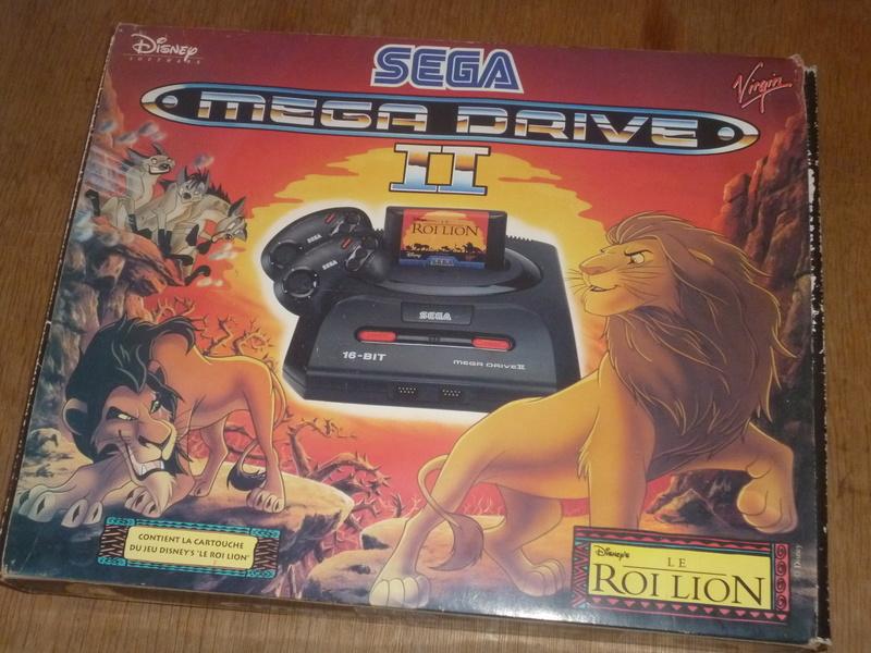VDS - Sega Megadrive - Pack Roi Lion P1180812