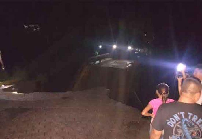 Se cae puente en Copan Ruinas, y al menos 25 comunidades quedan incomunicadas Puente10