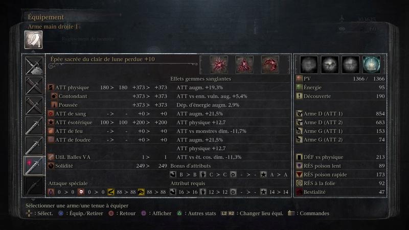 Build Epée du clair de lune (BL99) Bloodb10
