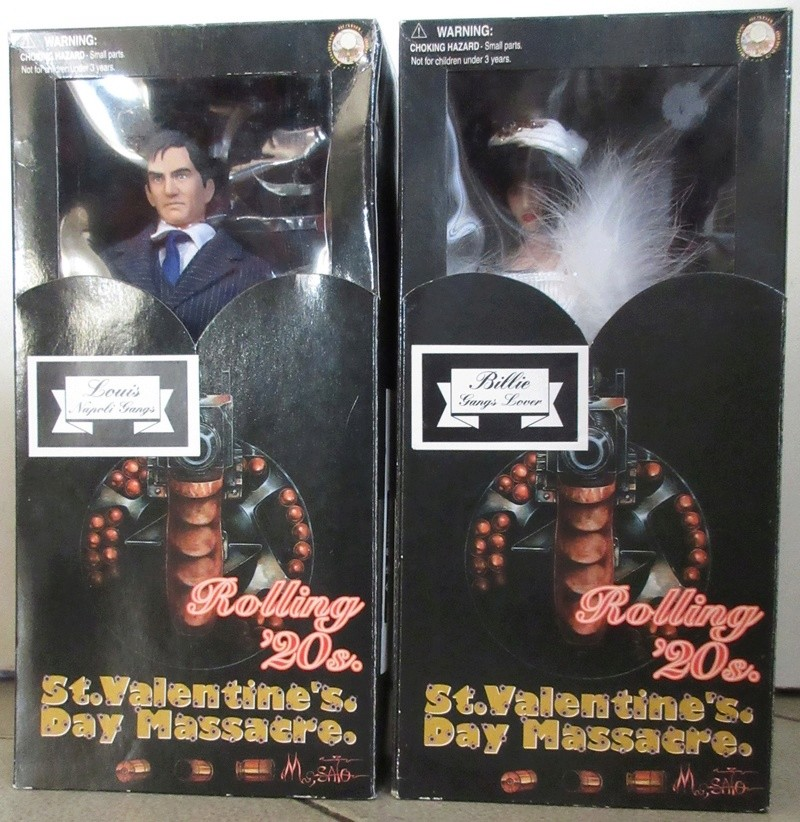 """Chicago's Gangsters ! Yamato 12"""" action figures  Img_9711"""