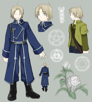 Fullmetal Alchemist: The new circle Oc_tho10
