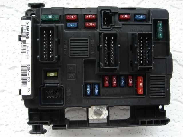 BM34 0 BSM: fusiblera electronica de vano motor. (modelos peugeot 307) W9wdnq10