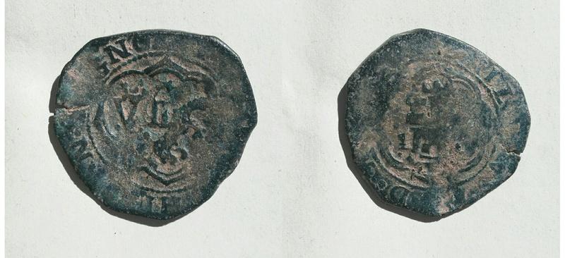 4 maravedís de Felipe III de Cuenca resellados. Img_2029