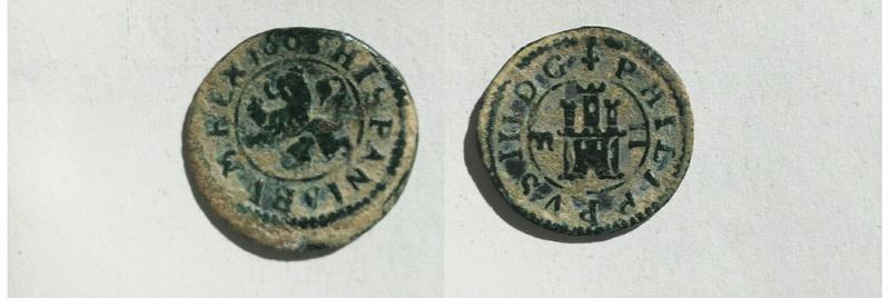 2 maravedís de Felipe III de Segovia, 1606. Img_2031