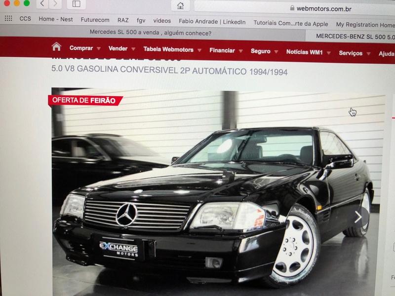Mercedes SL 500 a venda , alguém conhece? Img_1216