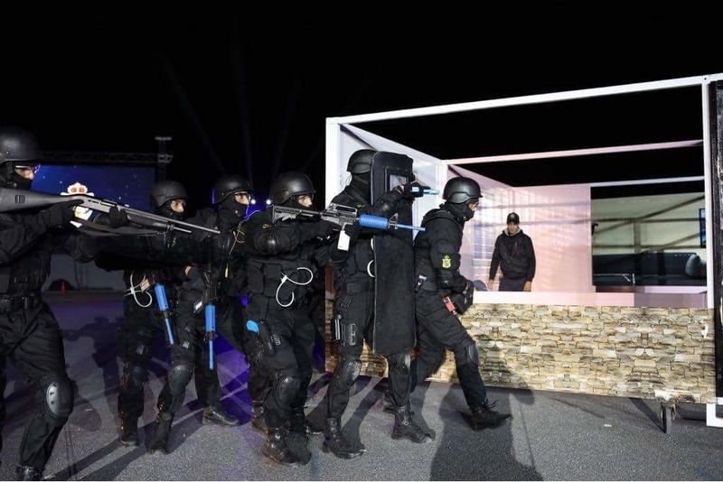 Moroccan Special Forces/Forces spéciales marocaines  :Videos et Photos : BCIJ, Gendarmerie Royale ,  - Page 13 Receiv19