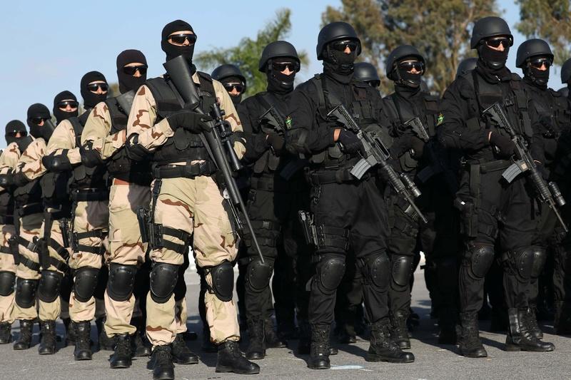Moroccan Special Forces/Forces spéciales marocaines  :Videos et Photos : BCIJ, Gendarmerie Royale ,  - Page 14 Receiv28