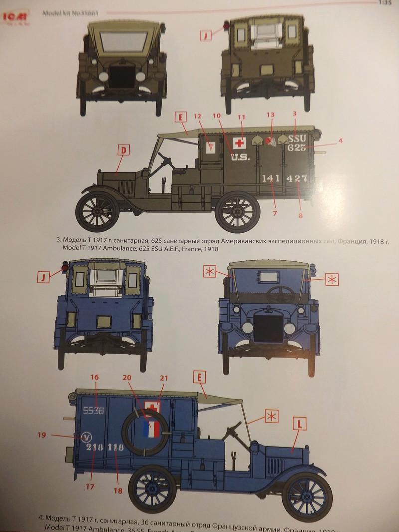 La noria des ambulances  pour St ROCH, [icm] Ford t 1/35 Dscf9317