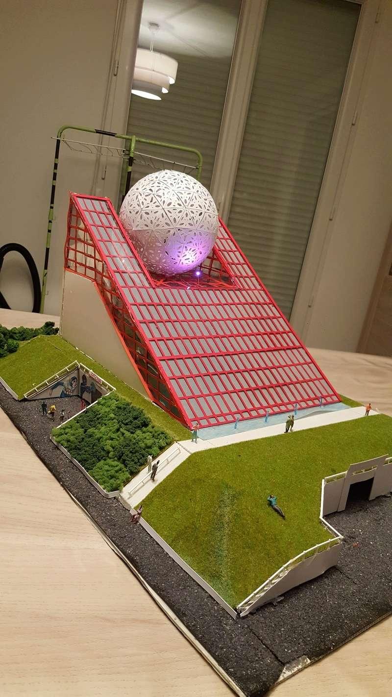 Maquettes de pavillons du Futuroscope par Nicoland - Page 2 20180110