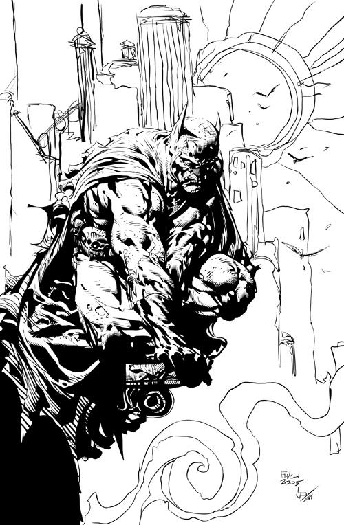 The Sentry by Gapf:  Batman11