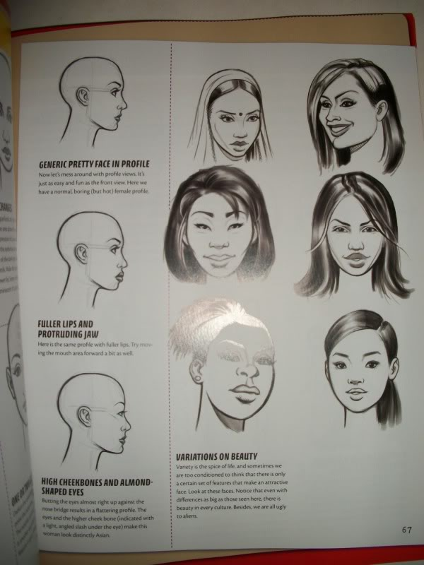 Como  representar rasgos étnicos en mujeres Imagen11