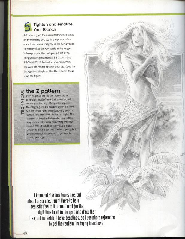 DRAW A BEAUTIFUL WOMAN by Greg Land Pictur10
