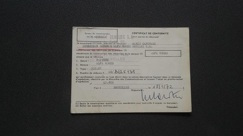 Plaque constructeur ....Belge Certif10