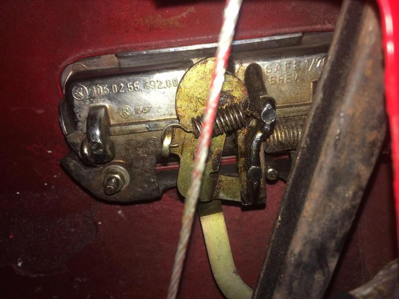 Réglage de la serrure sur coupé Bertone Thumbn11