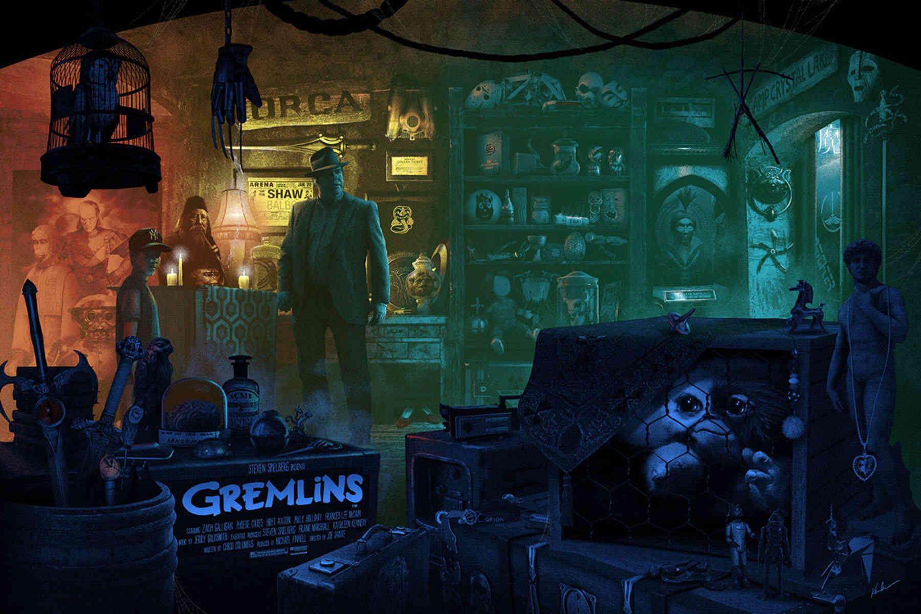 Referencias cinéfilas | conmemorativo Gremlins Gremli10