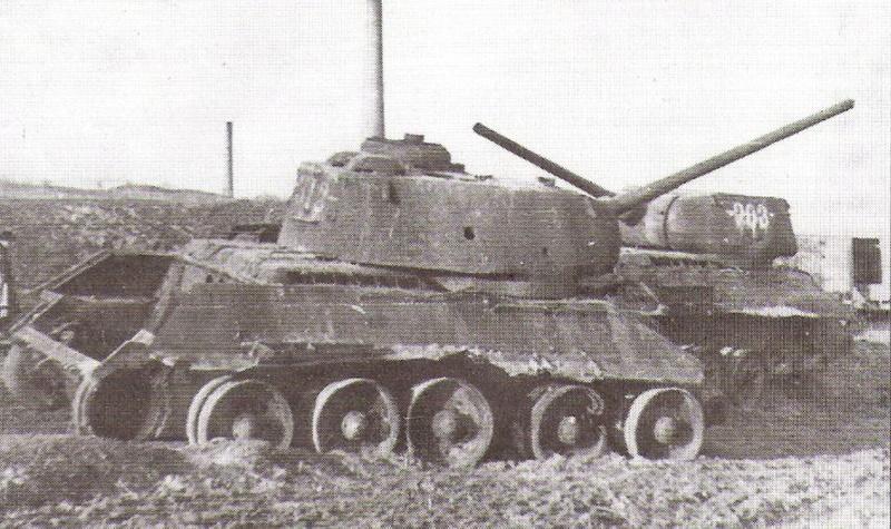 """Т-34/85 """"Мстители Донбасса"""" ГОТОВО 0_14a611"""