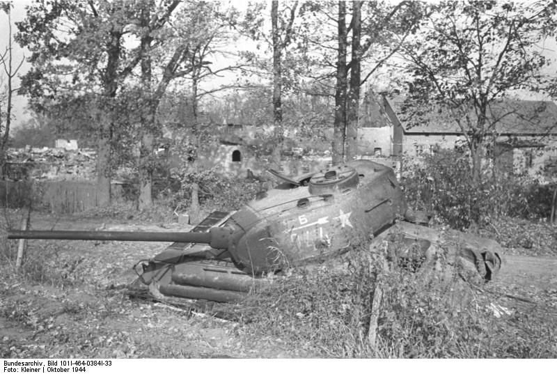 Т-34-85 з-да №112 с орудием С-53 Bundes10