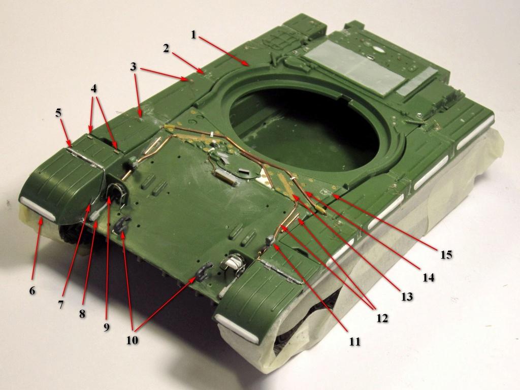 Т-64БВ - «окультуриваем» «СКИФ»  SKIF 1:35 №205  F00811