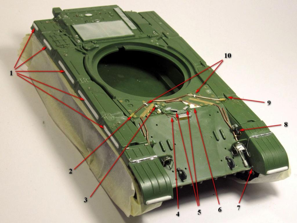 Т-64БВ - «окультуриваем» «СКИФ»  SKIF 1:35 №205  F00910