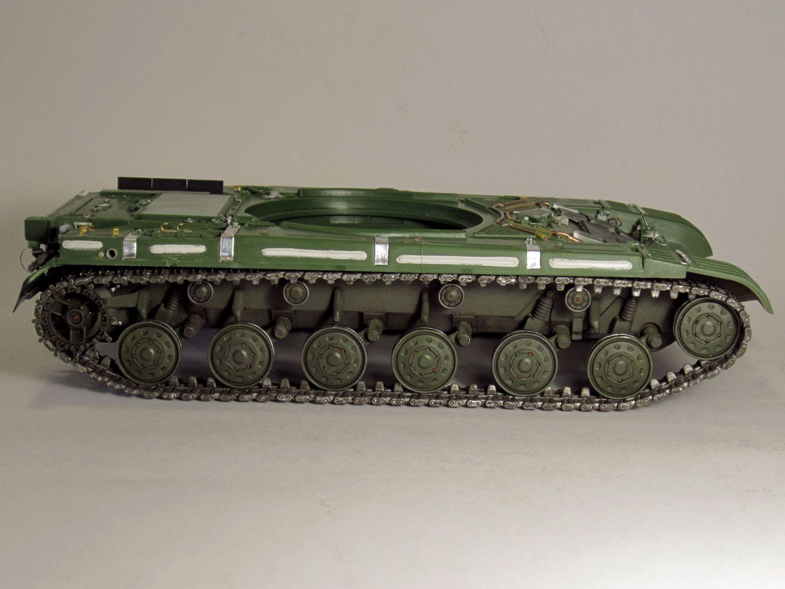 Т-64БВ - «окультуриваем» «СКИФ»  SKIF 1:35 №205  F01710