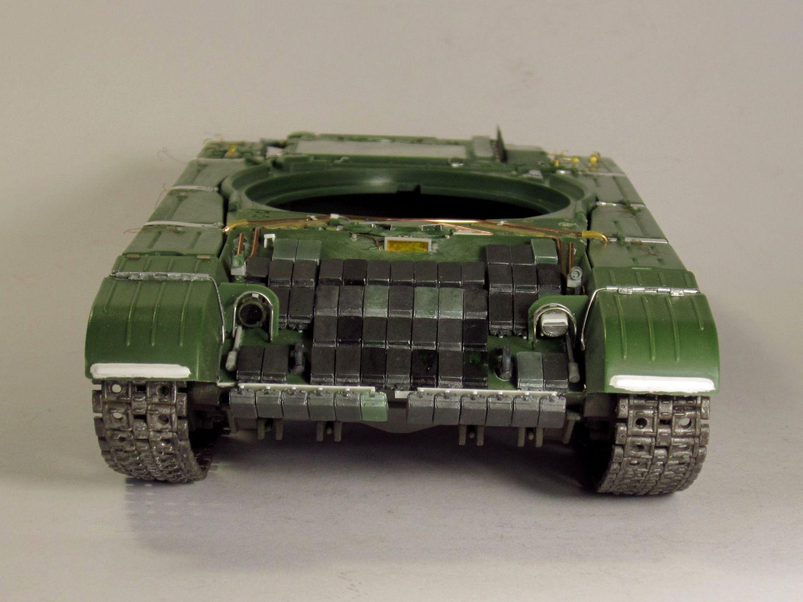 Т-64БВ - «окультуриваем» «СКИФ»  SKIF 1:35 №205  F01810
