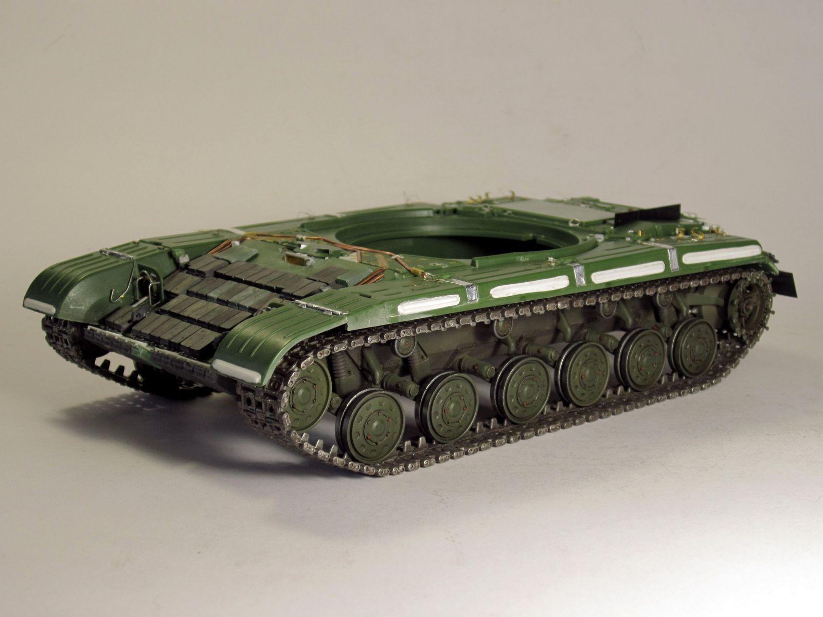 Т-64БВ - «окультуриваем» «СКИФ»  SKIF 1:35 №205  F01910
