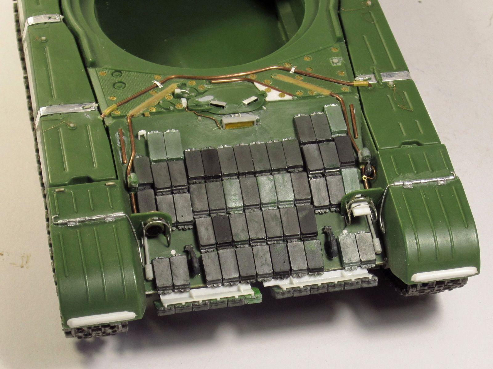 Т-64БВ - «окультуриваем» «СКИФ»  SKIF 1:35 №205  F02210